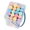 lifestyle_2, Moulin Roty 20-Piece Children's Activity Sidewalk & Floor Chalk Set multicolored outside play