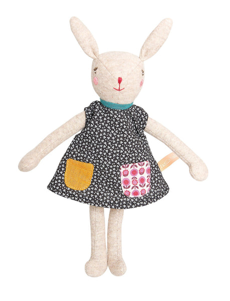 lifestyle_4, Moulin Roty La Famille Mirabelle Rabbit & Mice Pretend Play Dolls middle child kid camomille