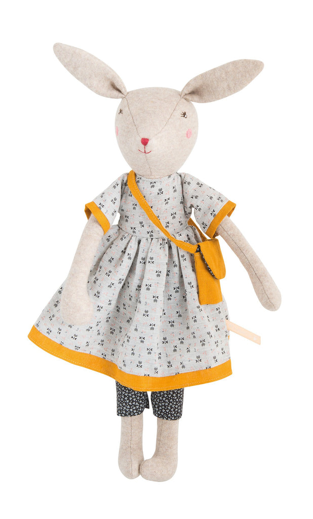 lifestyle_2, Moulin Roty La Famille Mirabelle Rabbit & Mice Pretend Play Dolls mama mom mother rose