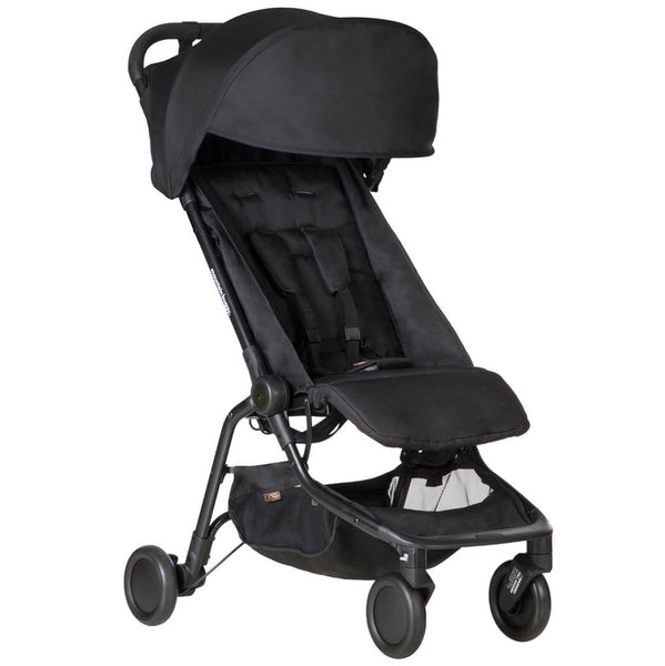 Mountain Buggy™ Lightweight Compact Folding Nano™ Travel Stroller black