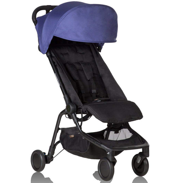 Mountain Buggy™ Lightweight Compact Folding Nano™ Travel Stroller nautical blue
