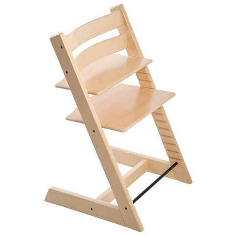 Stokke Beech Wood Adjustable Ergonomic Tripp Trapp Chair natural beige
