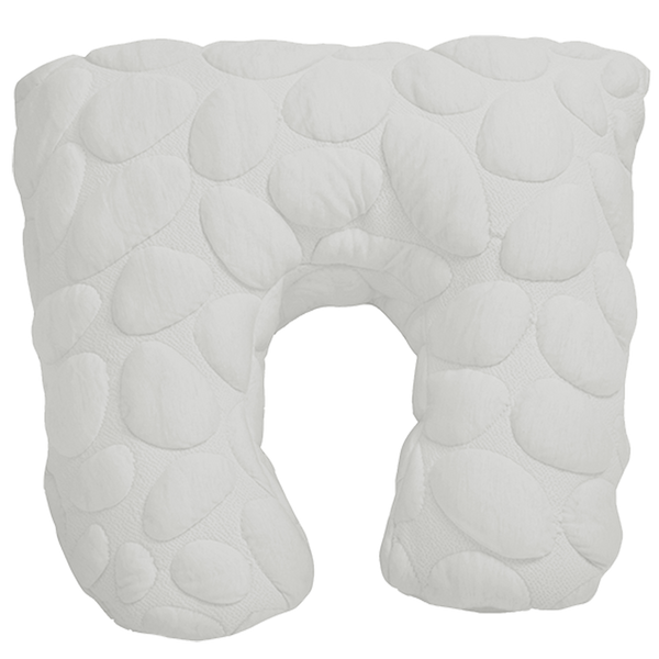 Nook Sleep Niche Nursing Pillow white cloud