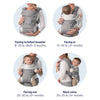 lifestyle_4, Nuna Night CUDL 4-in-1 Ergonomic Infant Baby Carrier