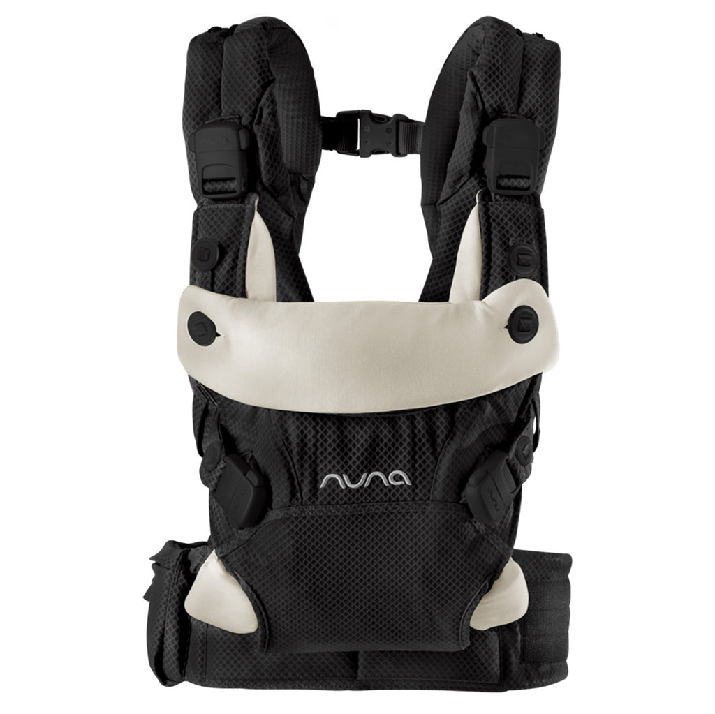 Nuna Night CUDL 4-in-1 Ergonomic Infant Baby Carrier black