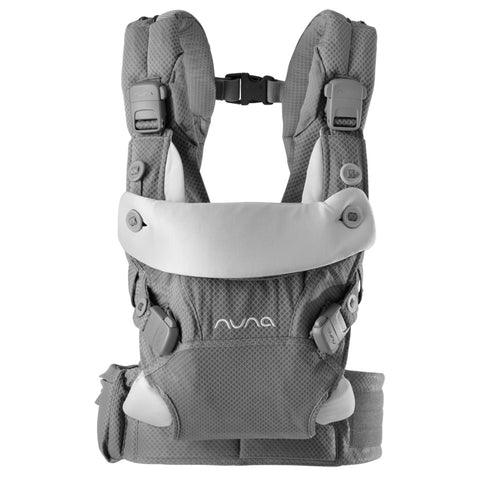 Nuna Slate CUDL 4-in-1 Ergonomic Infant Baby Carrier grey