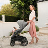 lifestyle_8, Nuna Caviar Mixx Next Stroller Compact One-Touch Infant Baby Travel System black