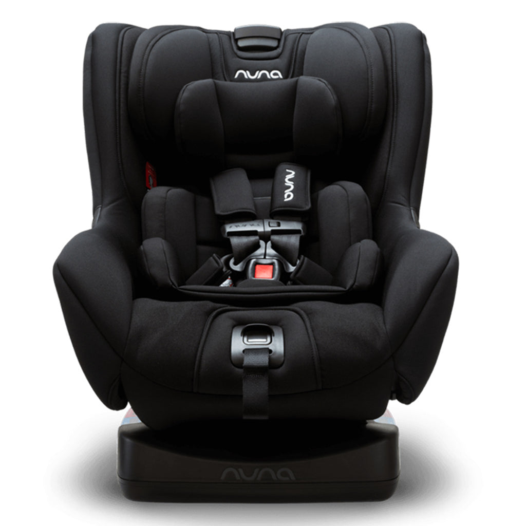 Nuna Caviar Rava Convertible Car Seat Infant Baby Safety System black