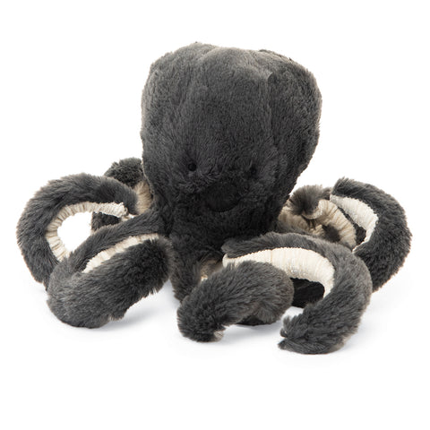 Jellycat Sea Creatures Stuffed Animals inky octopus baby black small