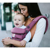 lifestyle_2, Ergobaby All-in-One Newborn Ready Omni 360 Baby Carrier cool air mesh plum red purple