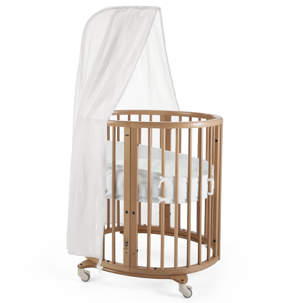 Outlet Stokke Sleepi Mini Crib Bundle natural brown
