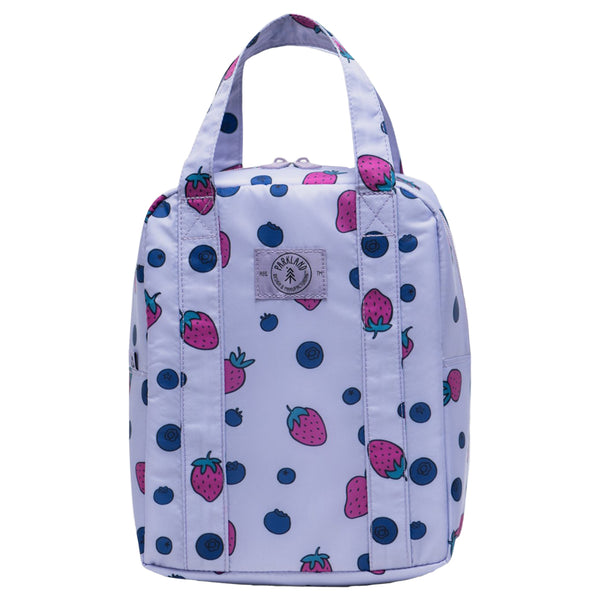 Parkland Remy Children's Lunch Bag berries strawberries  blueberries purple