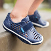 lifestyle_3, PLAE Mimo 100% Waterproof Sandal Shoes for Children crown blue dark navy blue aqua
