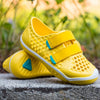lifestyle_3, PLAE Mimo 100% Waterproof Sandal Shoes for Children dandelion yellow green