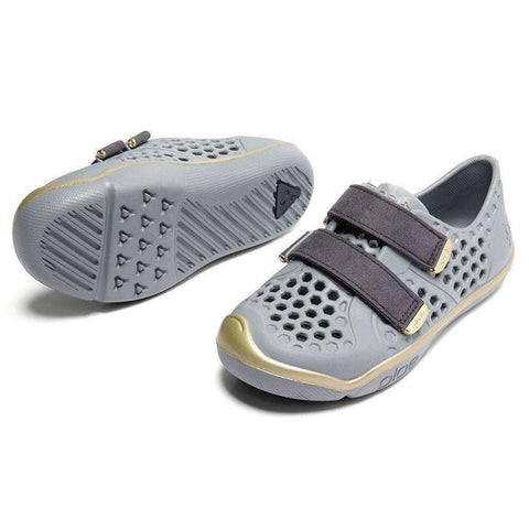 PLAE Mimo 100% Waterproof Sandal Shoes for Children limestone grey gold