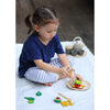 lifestyle_3, Plan Toys Breakfast Menu Children's Pretend Play Kitchen Food Toy multicolored assortment