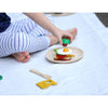 lifestyle_4, Plan Toys Breakfast Menu Children's Pretend Play Kitchen Food Toy multicolored assortment