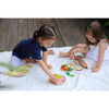 lifestyle_5, Plan Toys Breakfast Menu Children's Pretend Play Kitchen Food Toy multicolored assortment