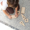 lifestyle_1, Plan Toys Hollow Blocks Children's Wooden Construct Activity Toy beige natura brown
