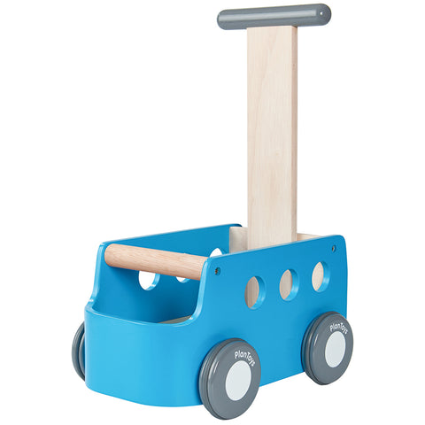 PlanToys Van Walker Children's First-Step Height Adjustable Toy  blue