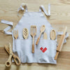 lifestyle_1, Poltora Stolyara Wooden Kitchen Set Children's Pretend Play Toys natural beige