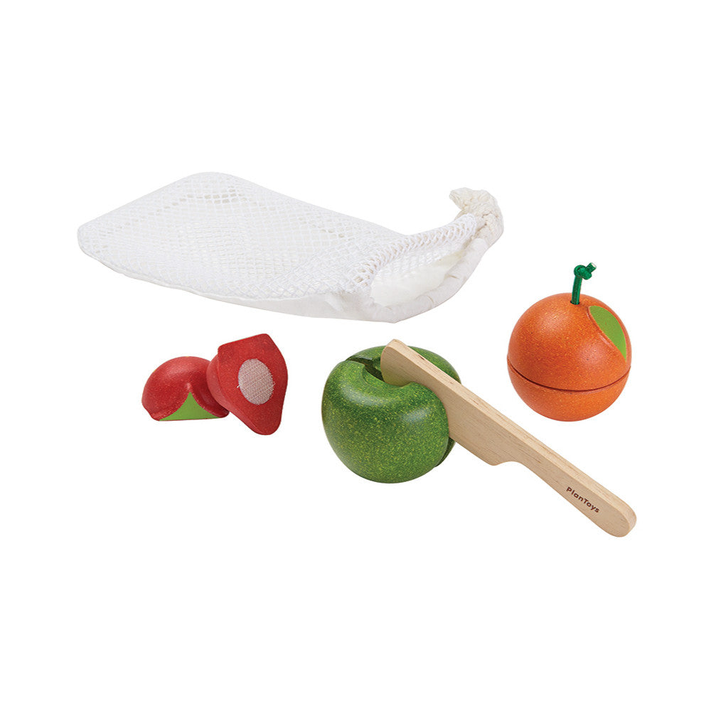 PlanToys Fruit and Knife Set