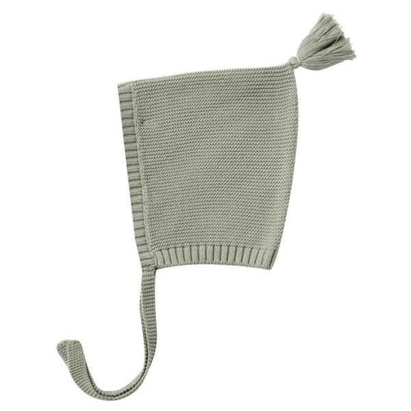 Quincy Mae Knit Pixie Hat Infant Baby Clothing Accessory sage neutral green