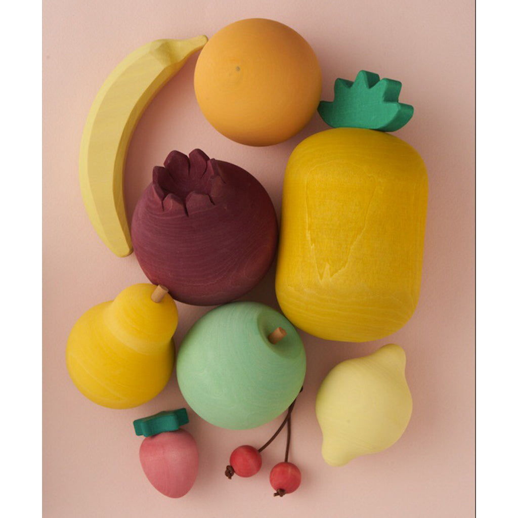 Raduga Grez Wooden Fruit Set Children's Pretend Play Food Toy multicolored
