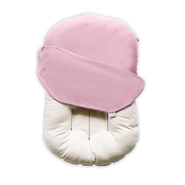 Outlet Snuggle Me Organic Baby and Infant Lounger bloom pink light co-sleeper