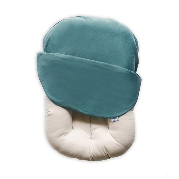 Outlet Snuggle Me Organic Baby and Infant Lounger moss dark green co-sleeper