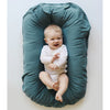 lifestyle_3, Snuggle Me 100% Organic Cotton Baby and Infant Lounger Set moss dark green