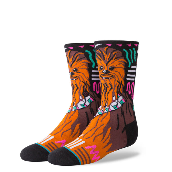 Stance Classic Toddler Boys Socks pattern cargo star wars chewie chewbacca orange brown