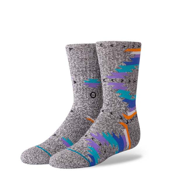 Stance Classic Toddler Boys Socks pattern jacinto grey blue orange purple shapes