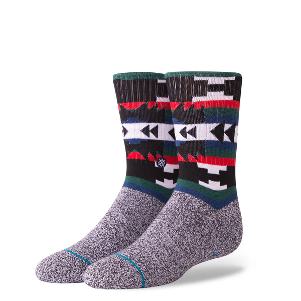Stance Classic Toddler Boys Socks pattern sea punk grey black red green stripe aztec