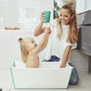 lifestyle_3, Stokke FlexiBath Newborn to Toddler with Heat Sensitive Plug Bath Tub