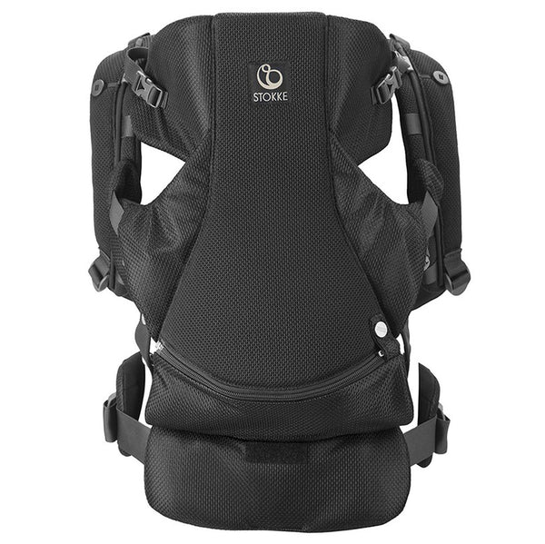 Outlet Stokke Baby Carrier and Accessories mycarrier front-back black mesh