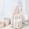 lifestyle_1, Stokke Sleepi Mini Crib Bed Skirt infant baby