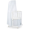 lifestyle_2, Stokke Sleepi Mini Crib Bed Skirt infant baby