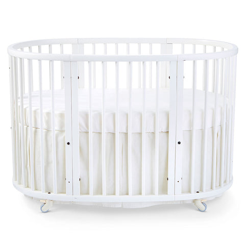 Stokke Sleepi Crib Bed Skirt infant baby natural