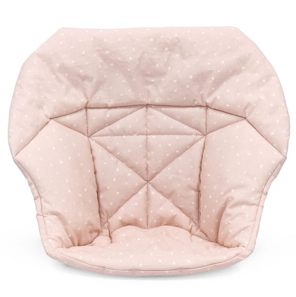 Stokke Mini Baby Cushion for Tripp Trapp High Chair pink bee light polkadot