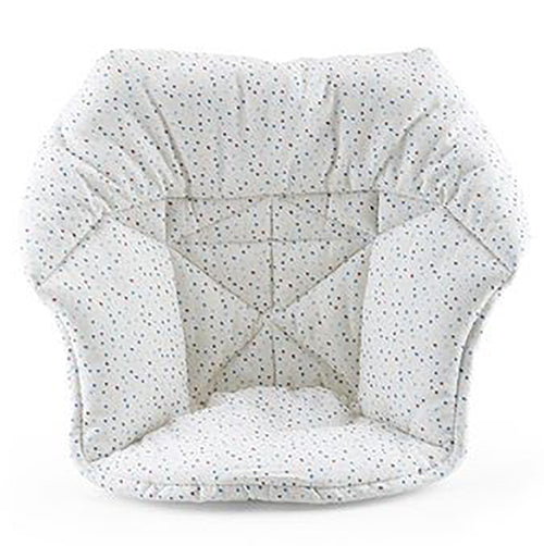 Stokke Mini Baby Cushion for Tripp Trapp High Chair soft sprinkle light grey polkadot