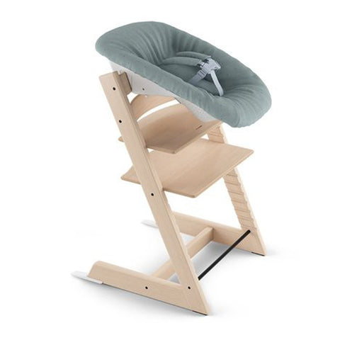 Stokke Tripp Trapp Chair Ergonomic Newborn baby Set jade confetti green blue