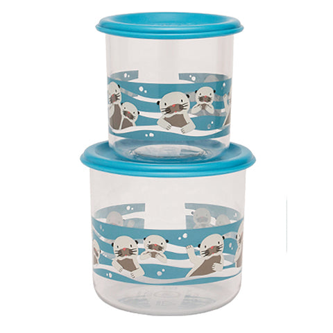SugarBooger Good Lunch Snack Containers Large Set-of-Two