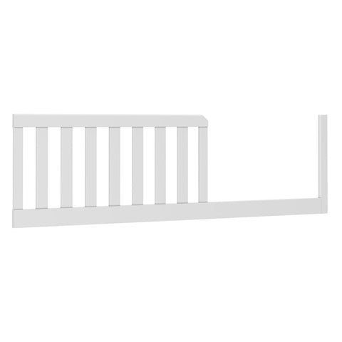 dadada White Soho Bed Rail Convertible Crib Toddler Bumper
