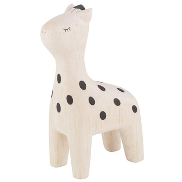 T-Lab Polepole Wooden Animals Hand-Crafted Toys giraffe