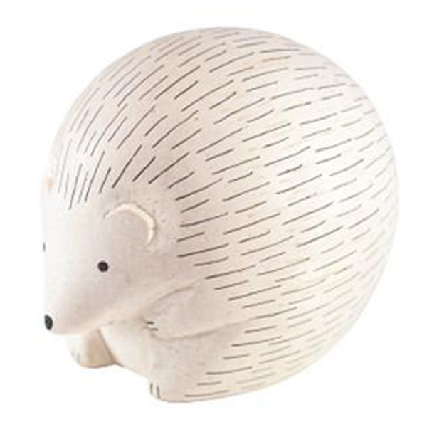 T-Lab Polepole Wooden Animals Hand-Crafted Toys hedgehog