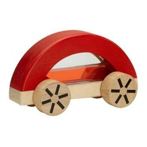 Plan Toys Wautomobile Children's Water-Filled Push Toy Vehicle red