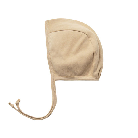 Quincy Mae Organic Cotton Infant Baby Bonnet Hat Accessory honey yellow