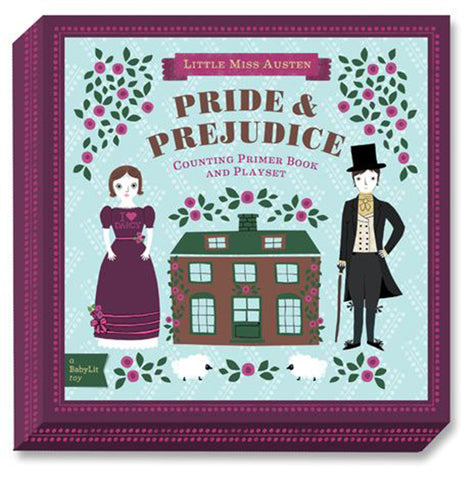 BabyLit Primer Book & Playsets Children's Activity &  Learning Toy pride & prejudice little miss austen