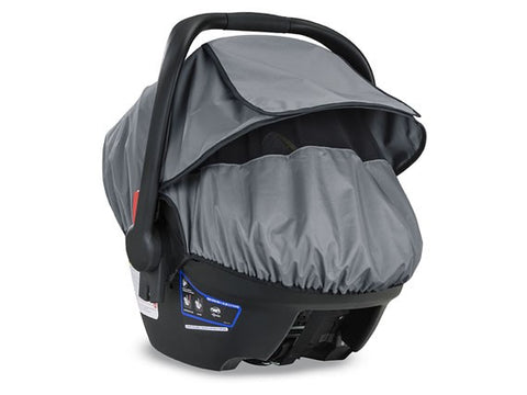 Britax B-Covered All-Weather Car Seat Weather Cover Accessory grey